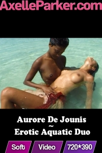 Aurore de Jounis - Erotic Aquatic Duo