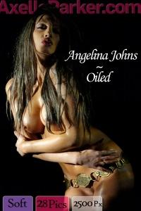 Angelina Johns - Oiled