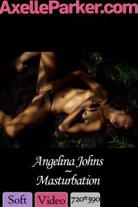 Angelina Johns - Masturbation