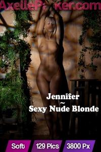 Jennifer  - Sexy Nude Blonde