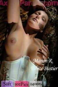 Manon R - White Bustier