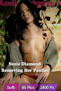 Suzie Diamond - Removing Her Panties